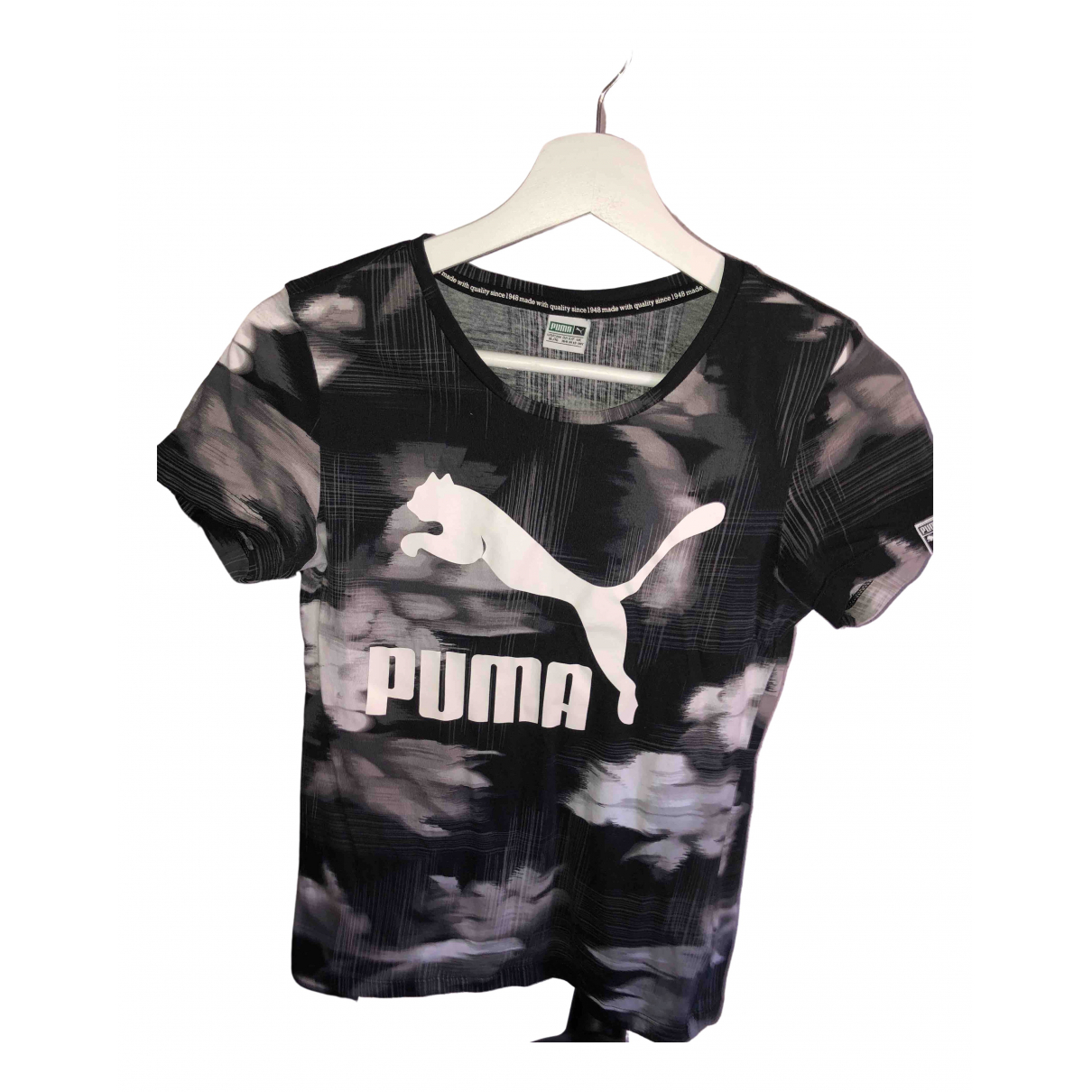 Puma \N Black Cotton  top for Women 36 FR