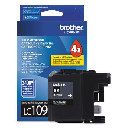 Brother LC109BK cartouche d'encre noire extra haute capacite