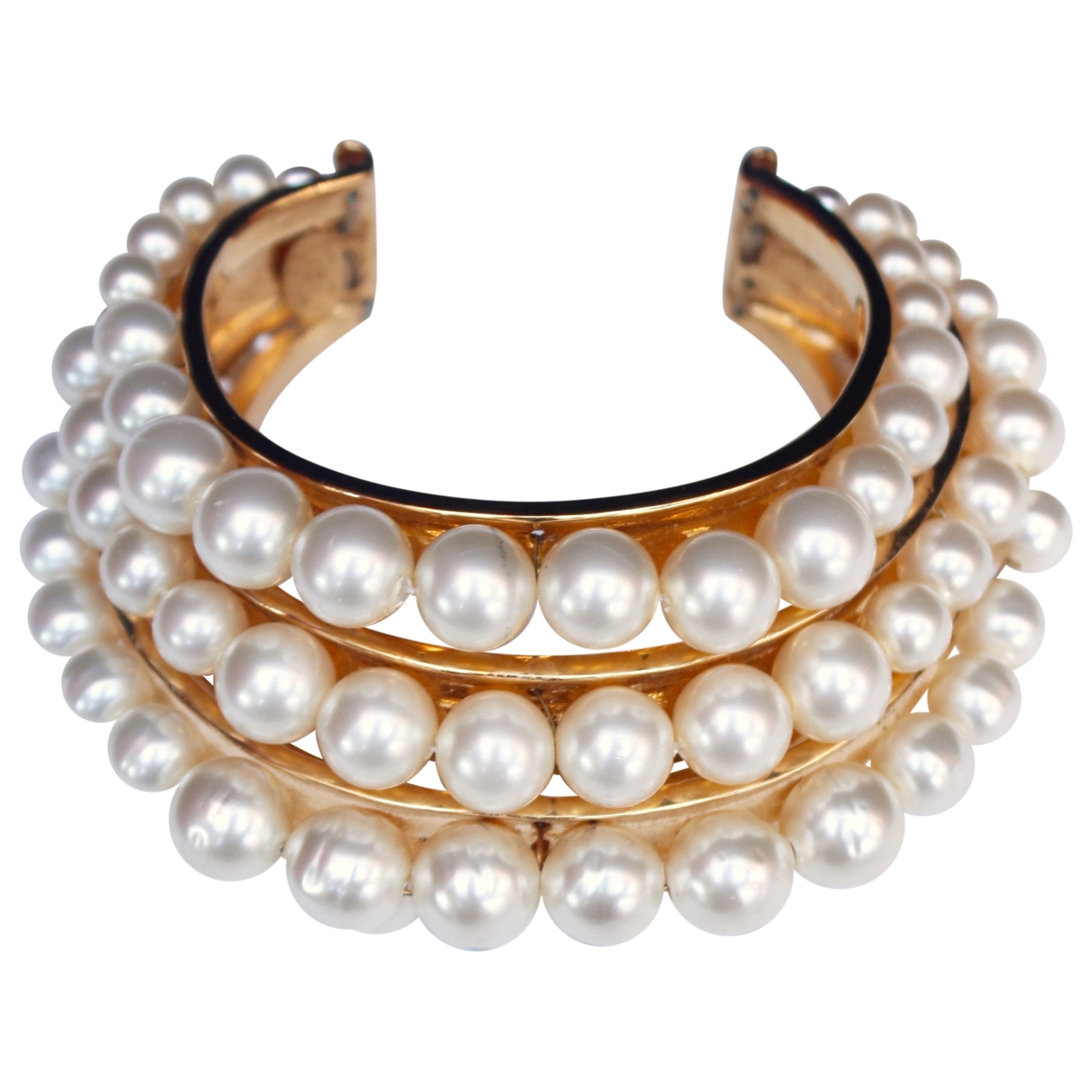 Chanel Baroque Armband in Metall