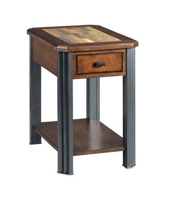 Slaton-Hamilton Collection 675-916 Chairside Table in Warm