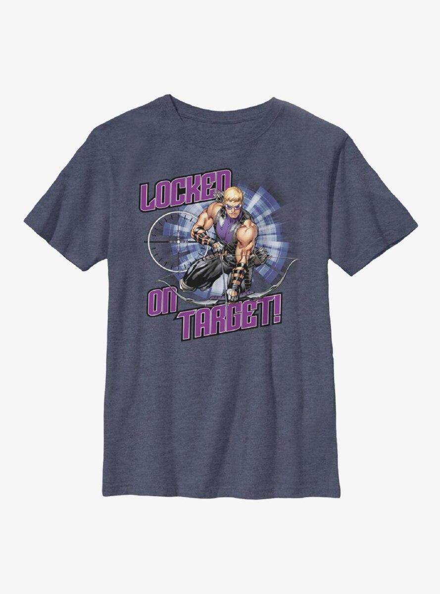 Marvel Hawkeye Targets Locked Youth T-Shirt