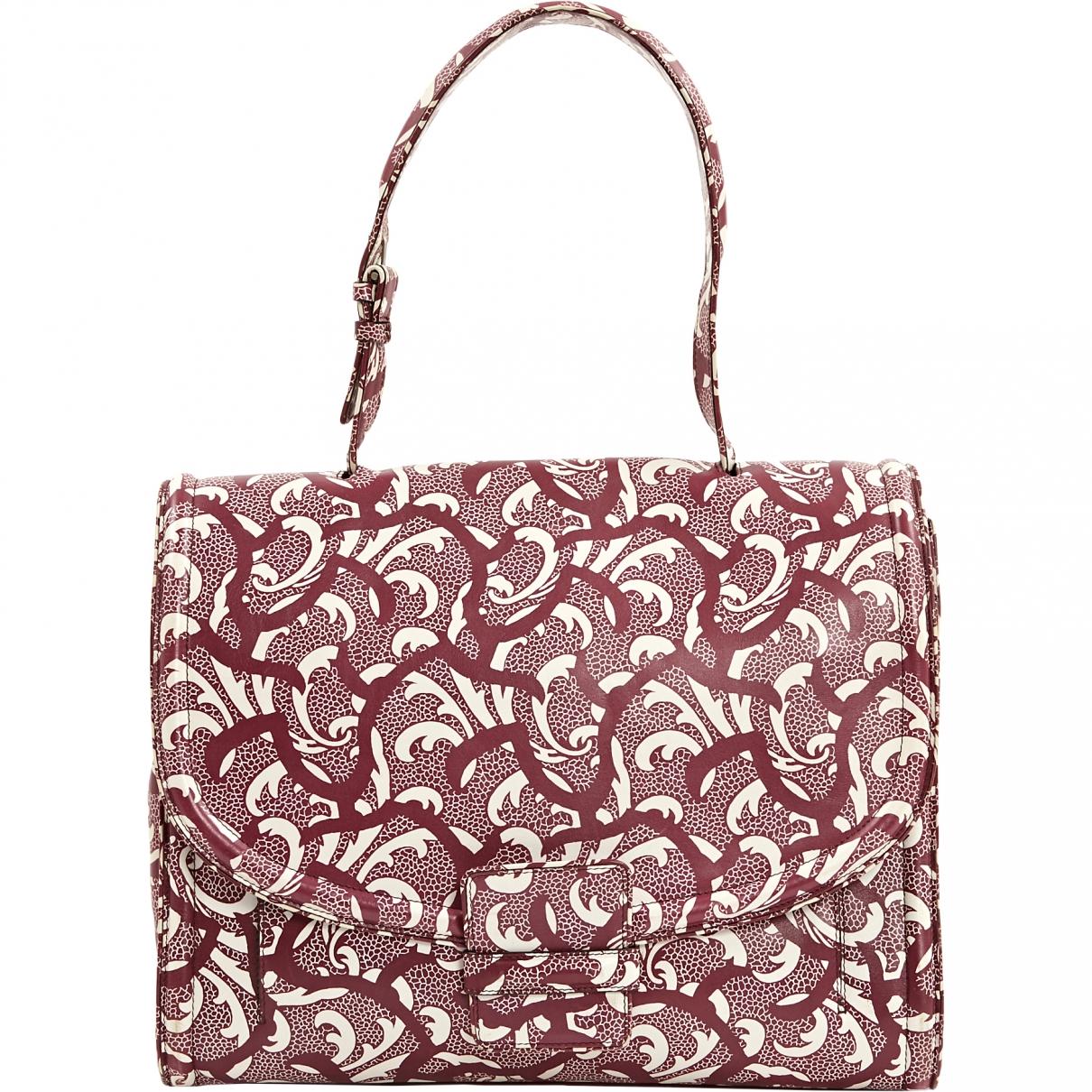 Dries Van Noten \N Purple Leather handbag for Women \N