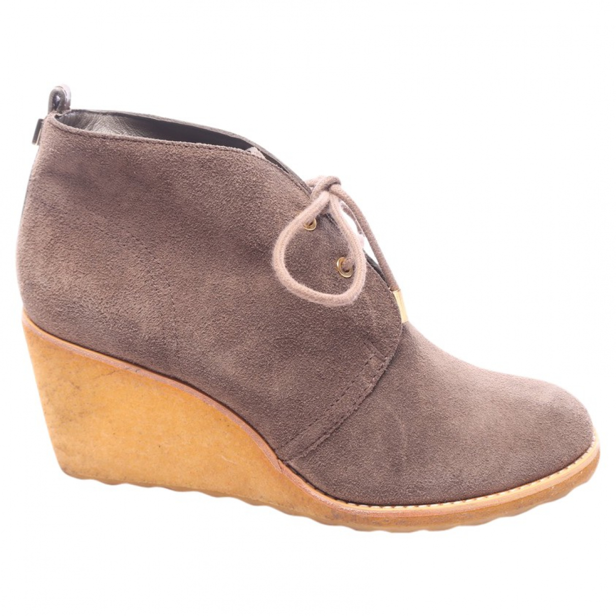 Tory Burch \N Brown Tweed Ankle boots for Women 40.5 EU
