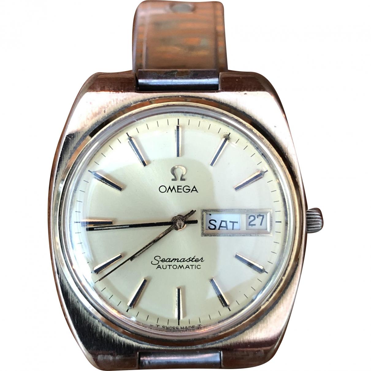 Omega Seamaster Gold Steel watch for Men \N