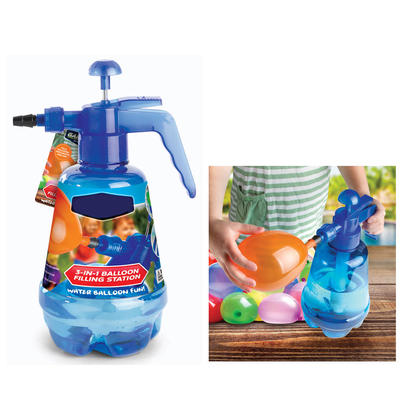 Water Balloon Filling Station 3-in-1 With 250 Balloons 1Pc
