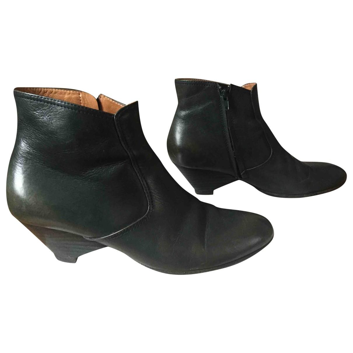 Maison Martin Margiela - Boots   pour femme en cuir - vert