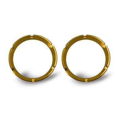 KC Hilites Color Bezel Ring (Gold) - 30552