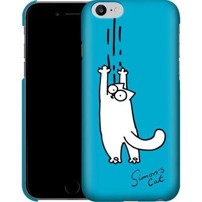 Apple iPhone 6 Plus Smartphone Huelle - Scratching Over Blue von Simons Cat