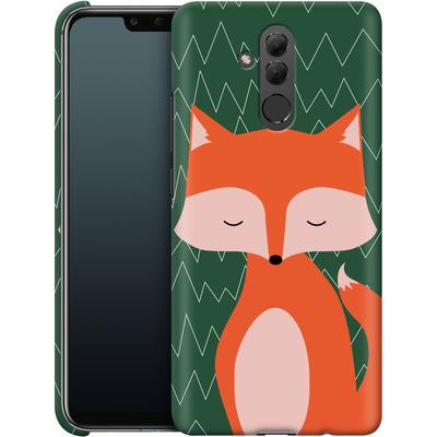 Huawei Mate 20 Lite Smartphone Huelle - Fox on Green von caseable Designs