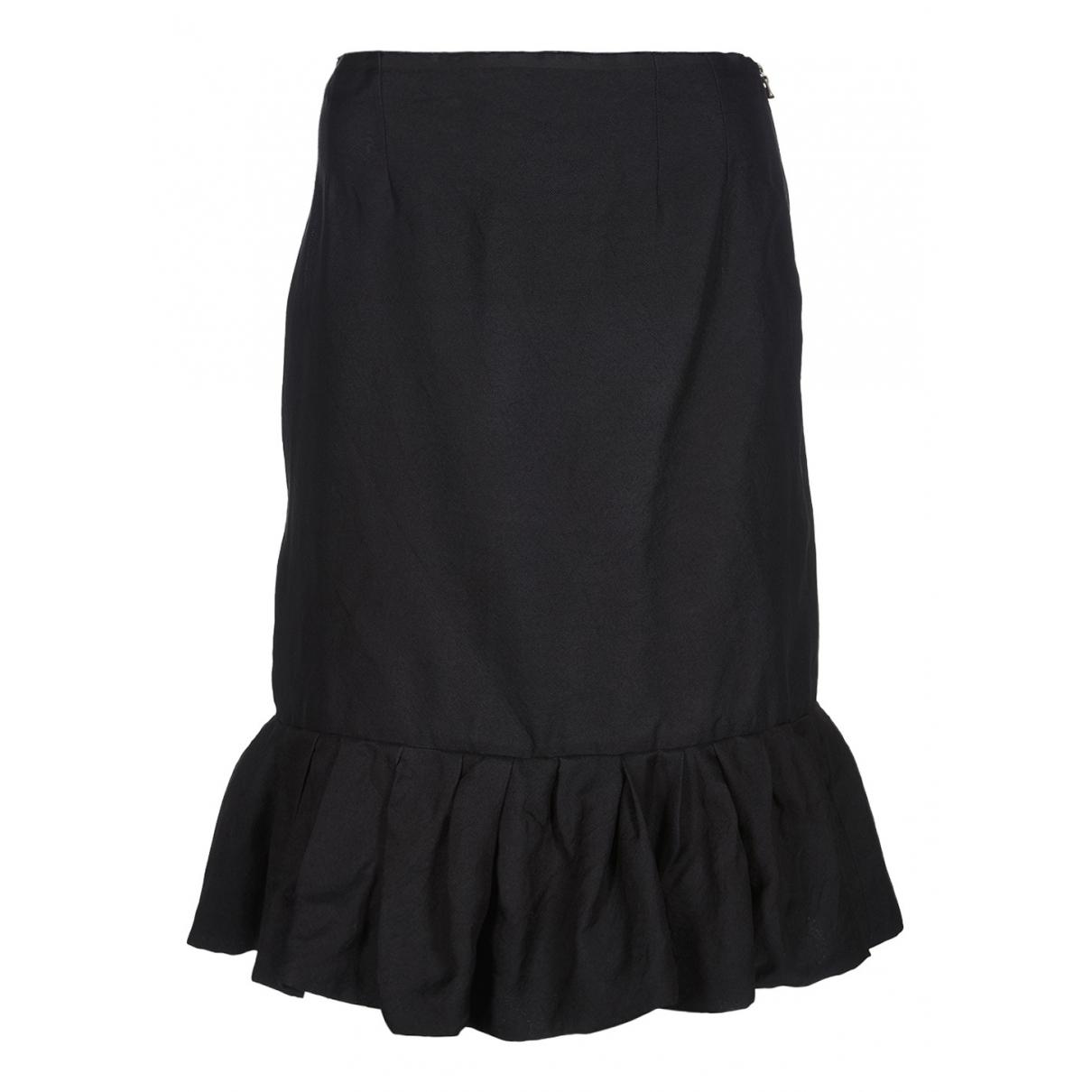 Lanvin - Jupe   pour femme en soie - noir