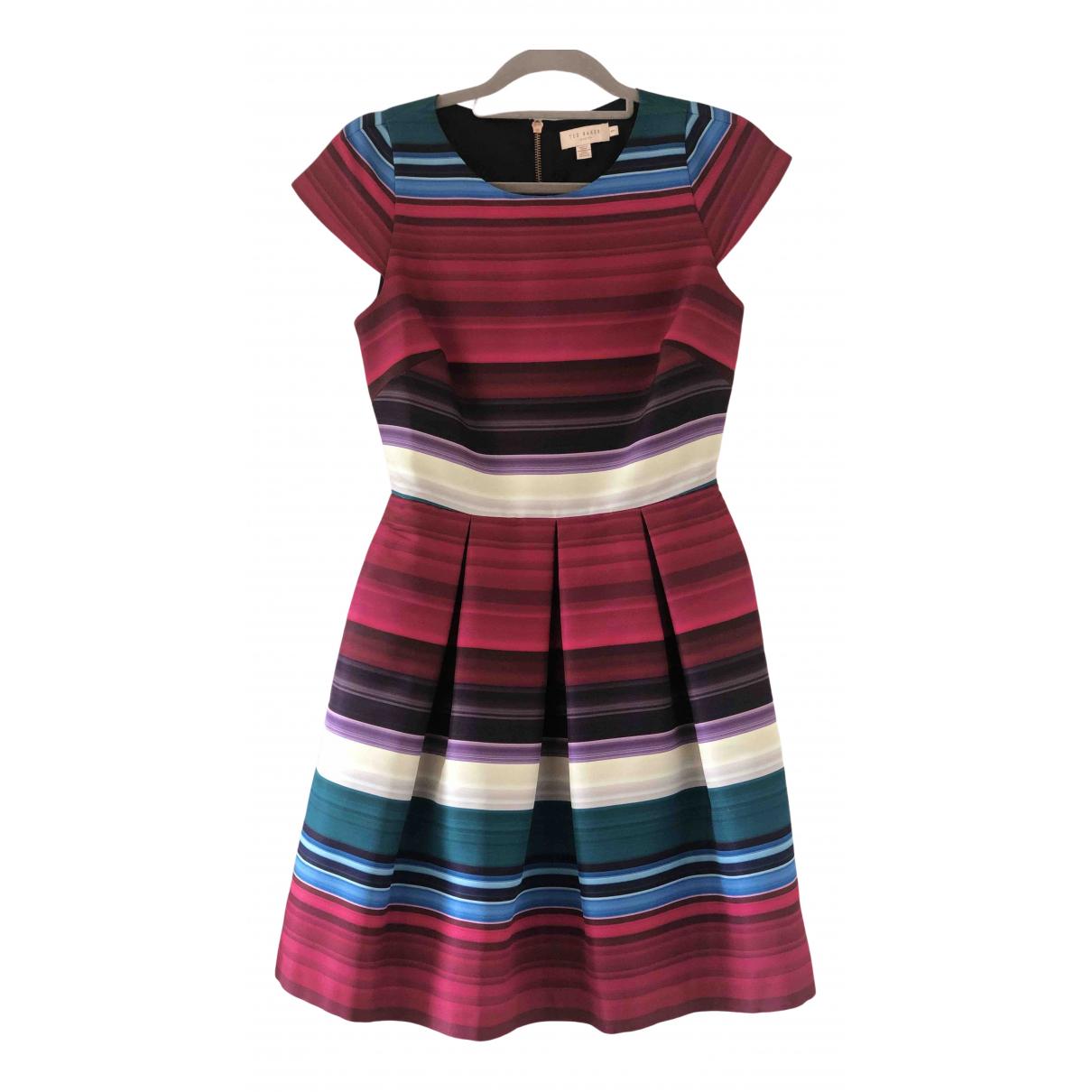 Ted Baker \N Kleid in  Bunt Baumwolle - Elasthan