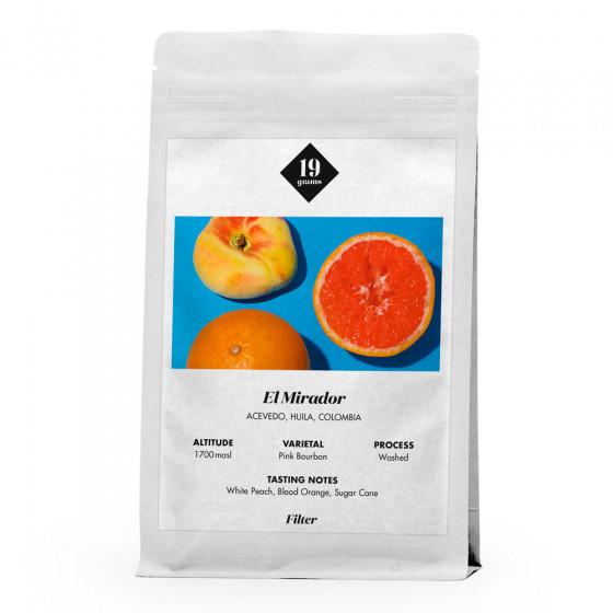 """Kaffeebohnen 19 grams """"El Mirador Filter"""", 1 kg"""
