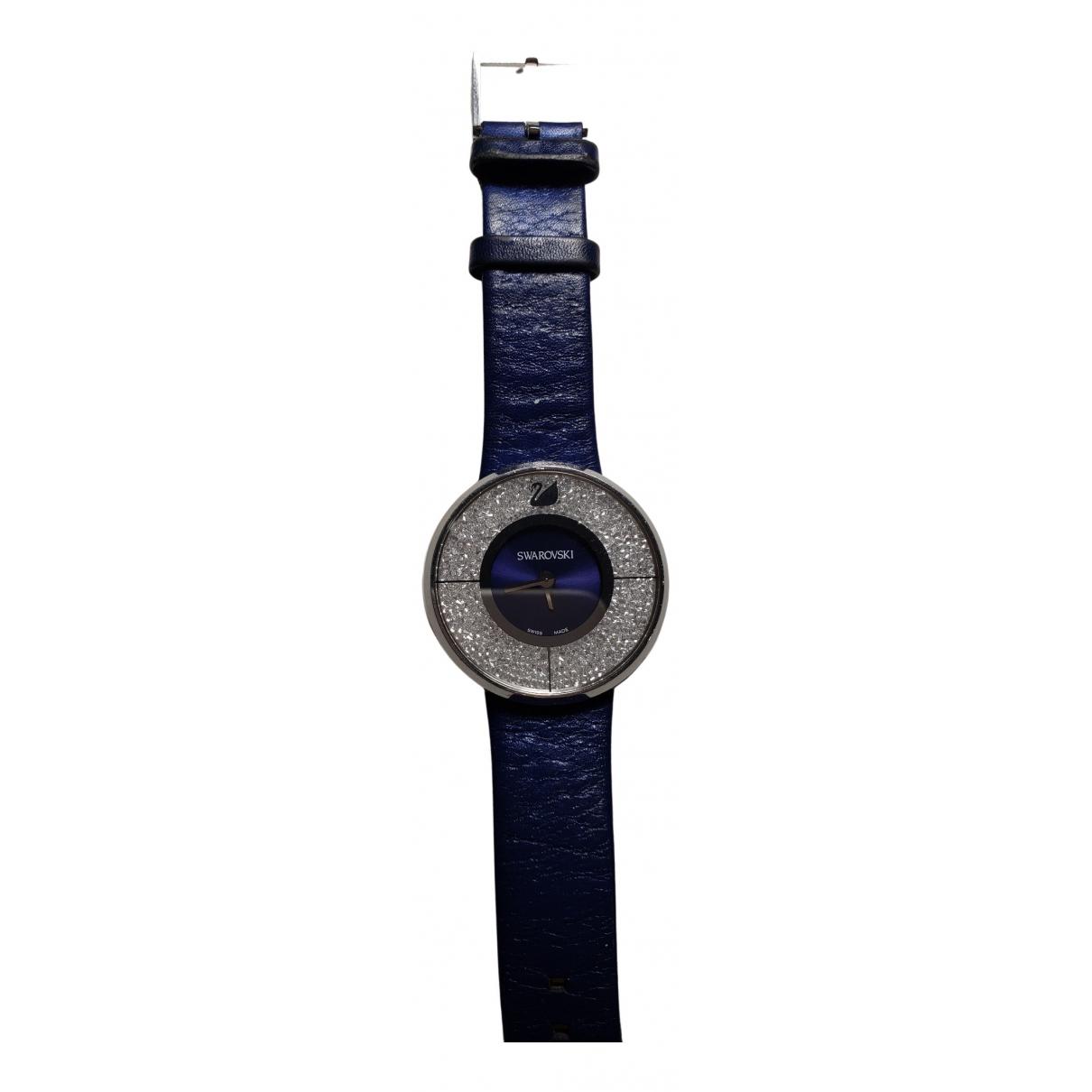 Swarovski \N Uhr in  Blau Stahl