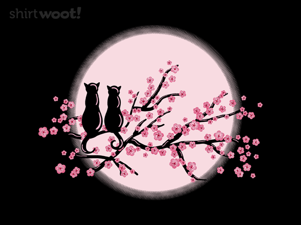 Kitty Blossoms T Shirt