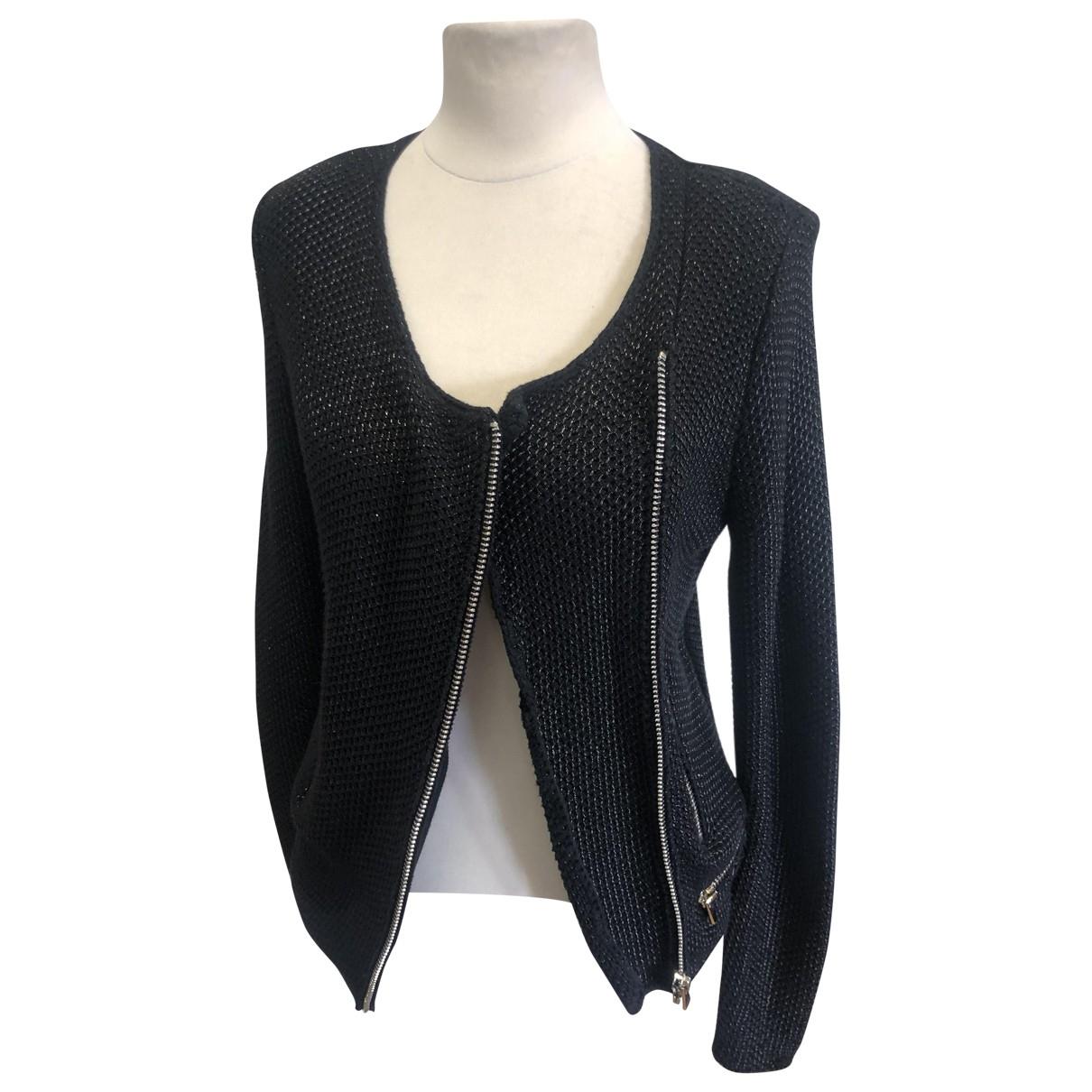Maje - Veste   pour femme en coton - noir
