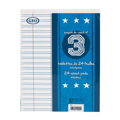 Geo® Writing Pads, 48 Pages, 7