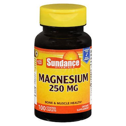 Sundance Magnesium Coated Caplets 100 Tabs by Sundance