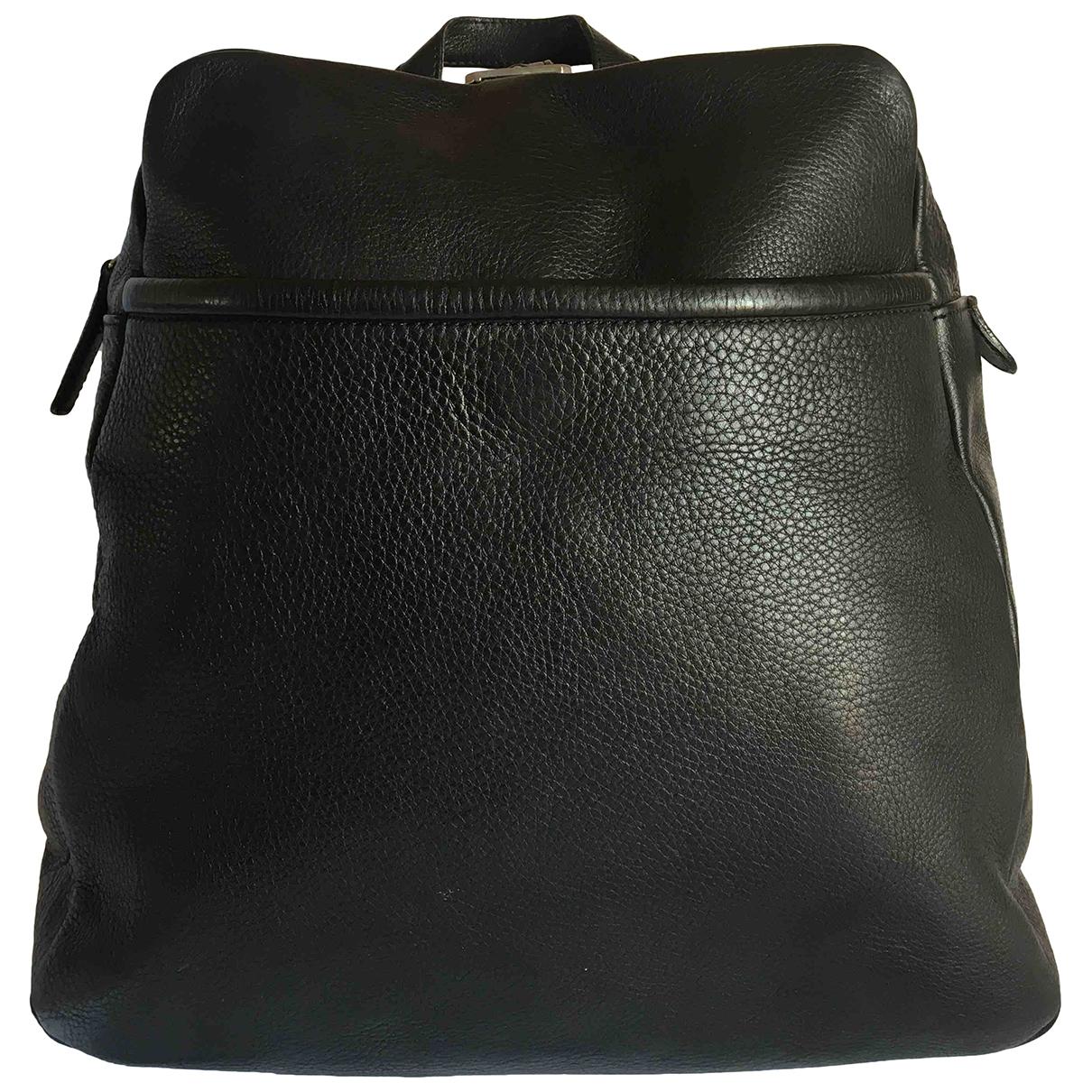 Bally - Sac a dos   pour femme en cuir - noir