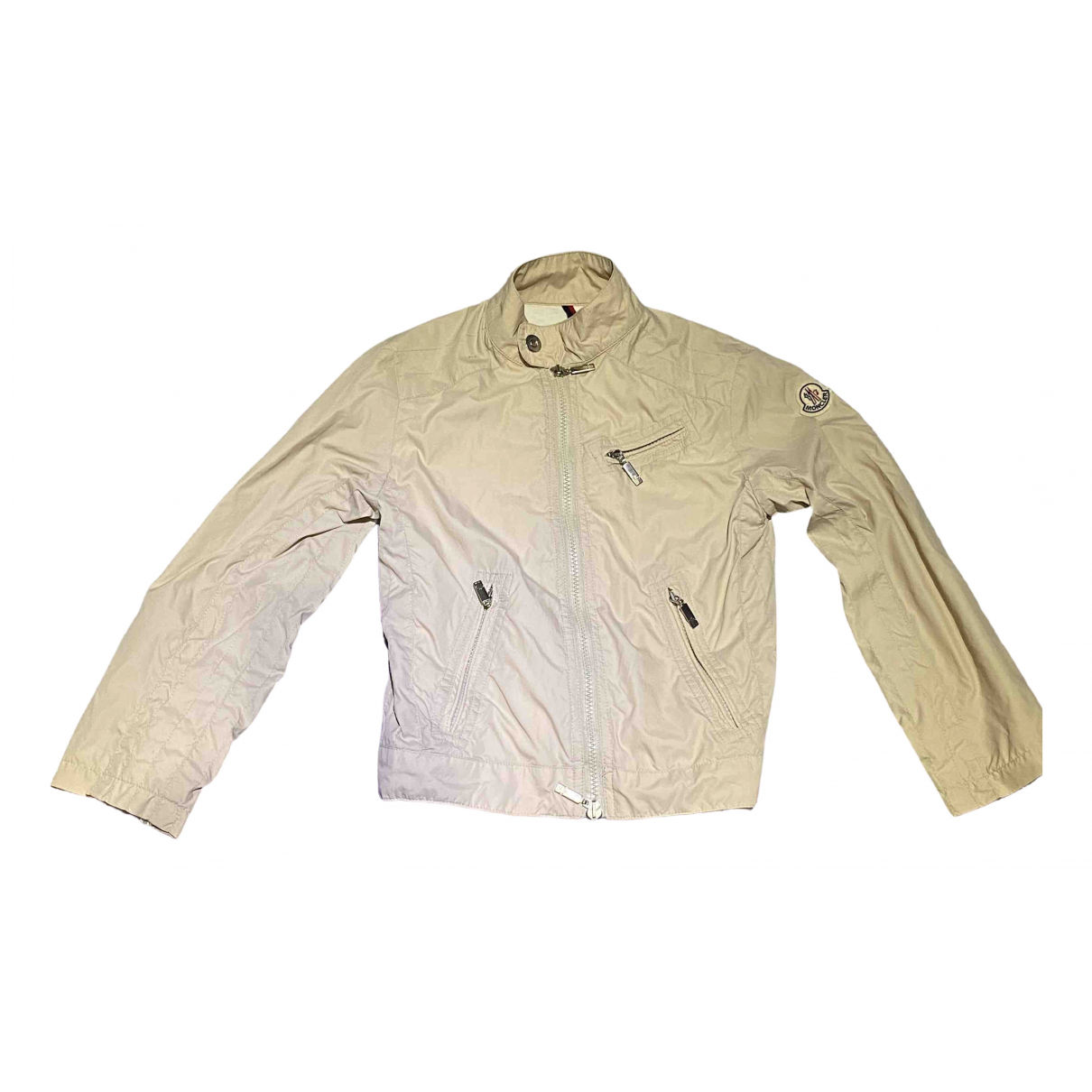 Moncler \N Beige Cotton jacket & coat for Kids 8 years - up to 128cm FR