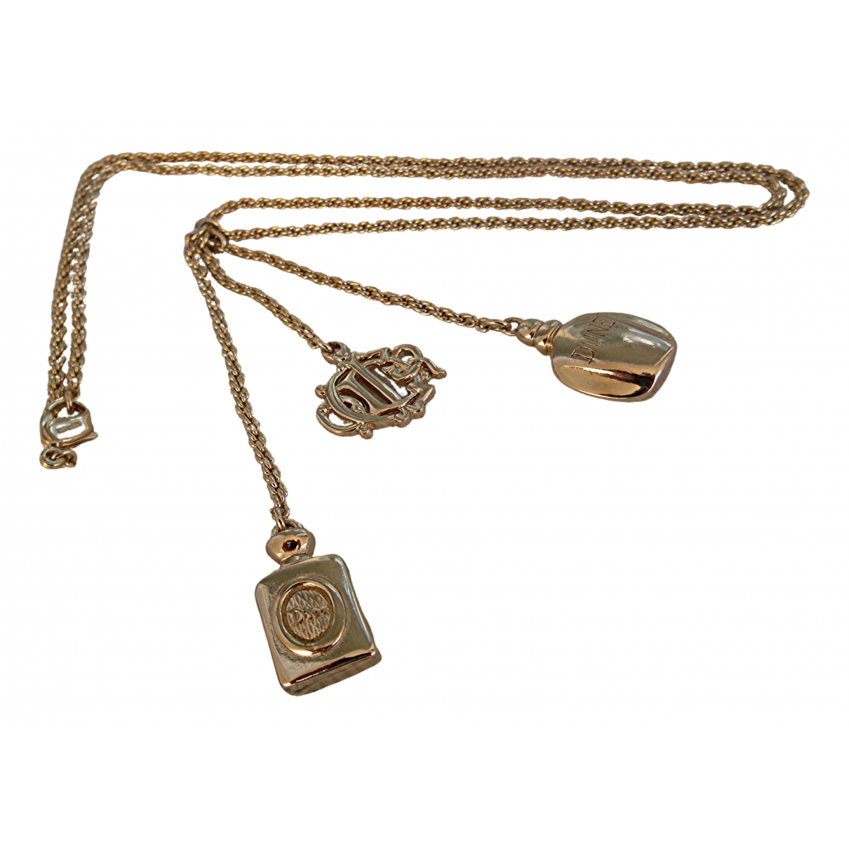 Dior Monogramme Gold Metal necklace for Women \N