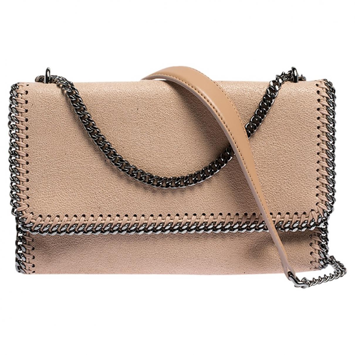 Stella Mccartney Falabella Beige Cloth handbag for Women \N