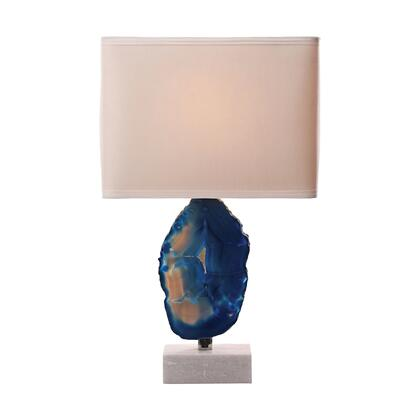 8989-033 Minoa Table Lamp  In Blue Agate And