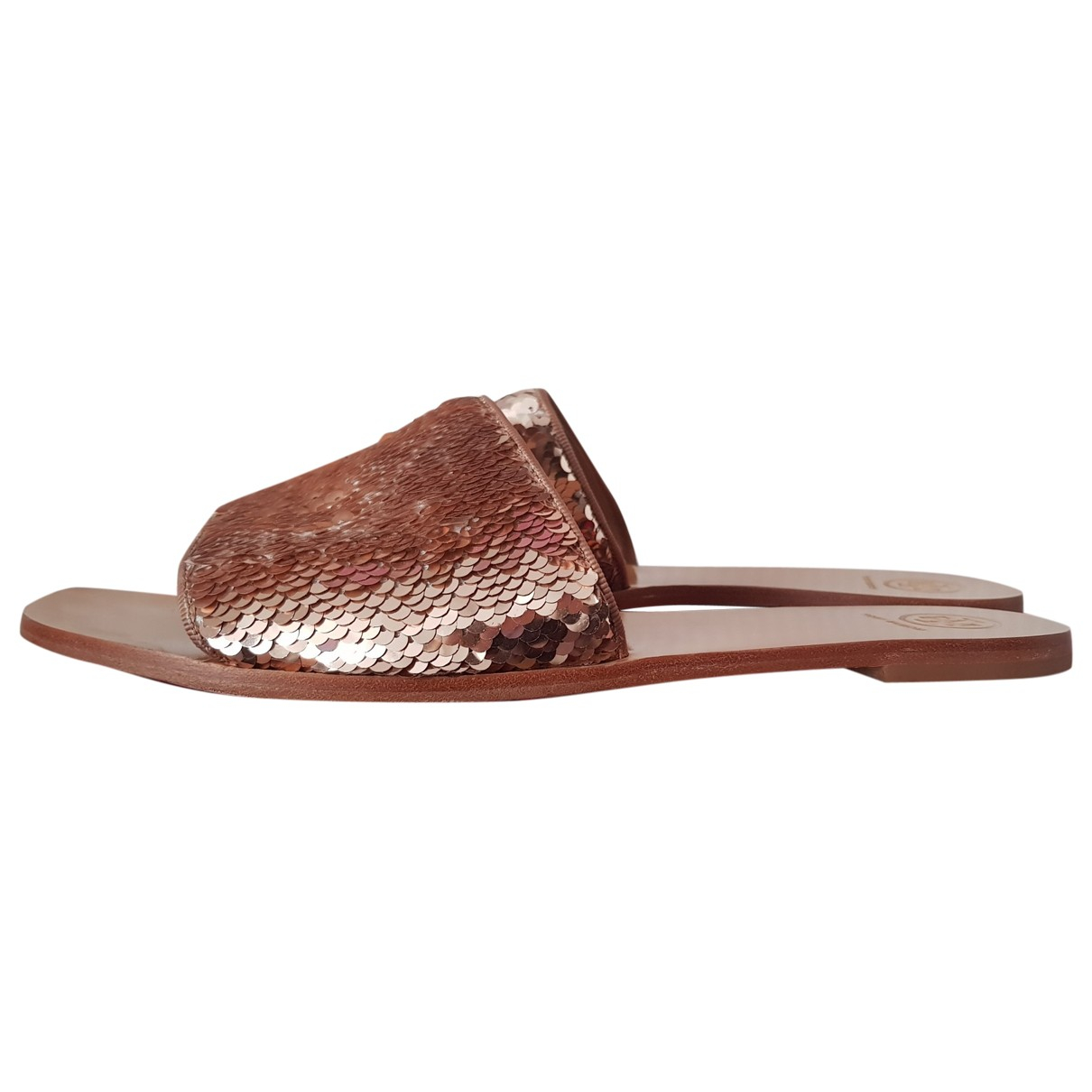 Tory Burch \N Gold Glitter Sandals for Women 10 US