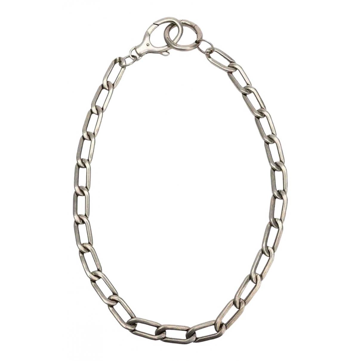 Balenciaga - Bijoux   pour homme en metal - argente