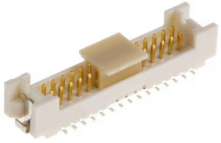 Hirose , DF13, 30 Way, 2 Row, Straight PCB Header (1000)