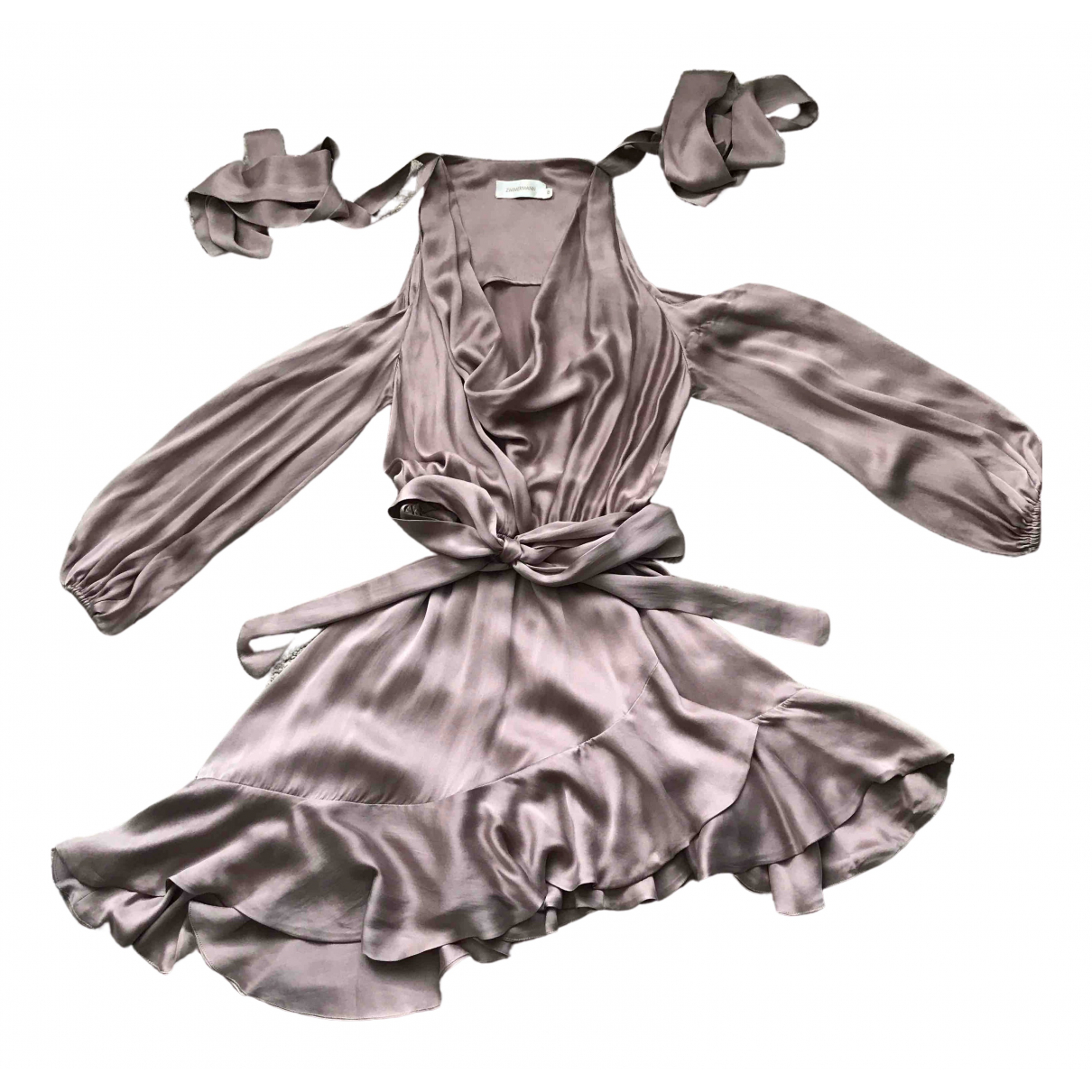Zimmermann \N Silk dress for Women 2 0-5