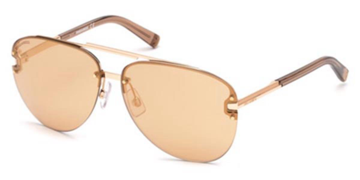 Dsquared2 DQ0274 Baptiste 38Z Men's Sunglasses Brown Size 63