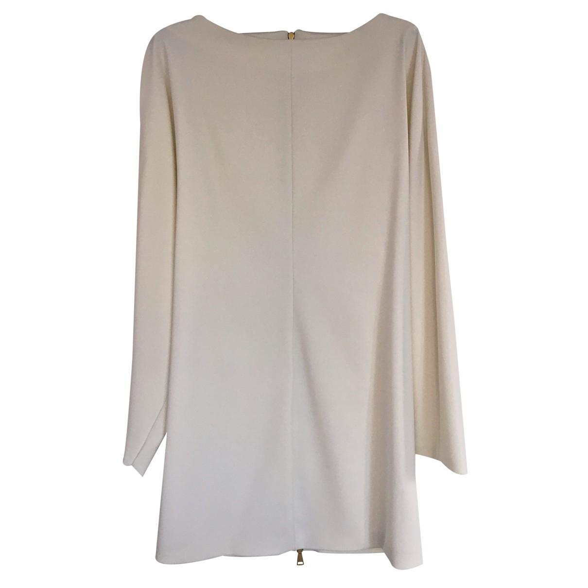 Vionnet - Robe   pour femme en laine - ecru