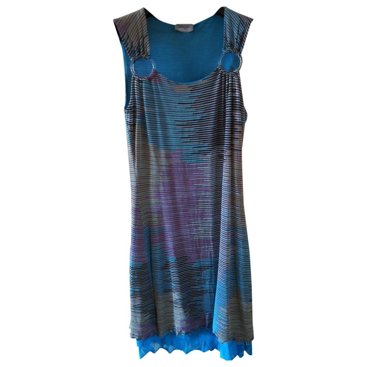 Missoni \N Kleid in  Tuerkis Synthetik