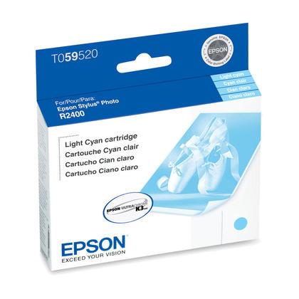 Epson T059520 cartouche dencre originale cyan clair