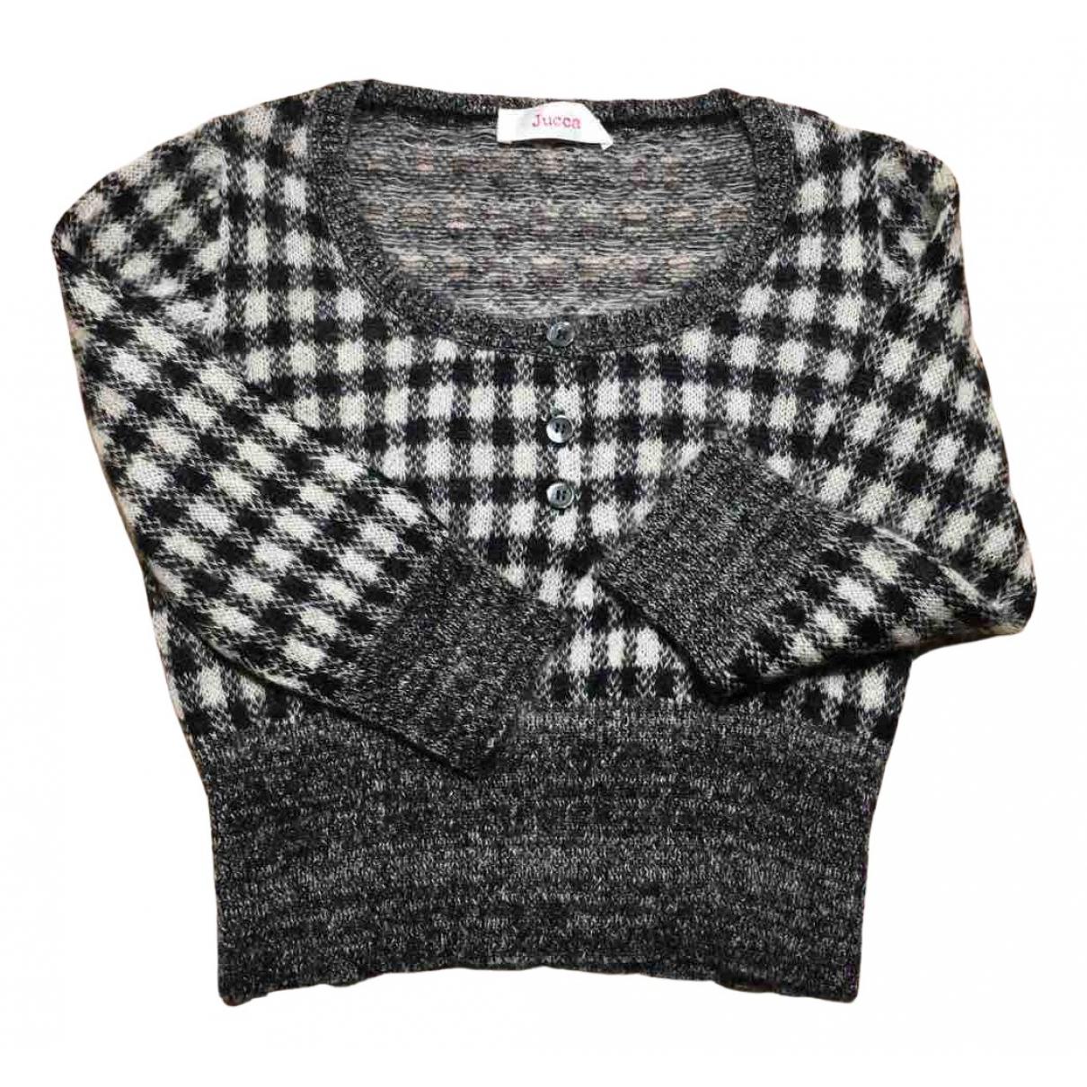 Jucca - Pull   pour femme en laine - gris