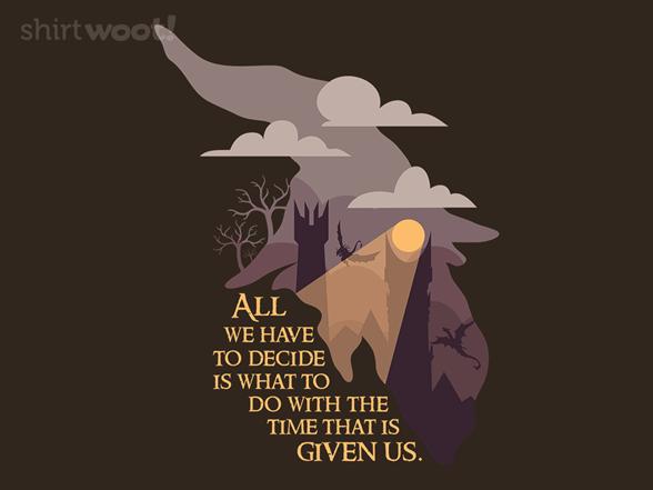 Wizard Wisdom T Shirt