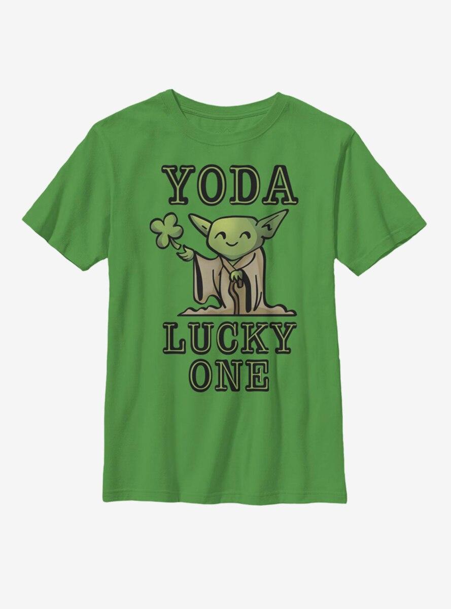 Star Wars Yoda So Lucky Youth T-Shirt