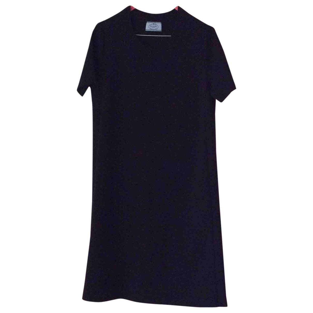 Prada \N Black Wool dress for Women 44 IT
