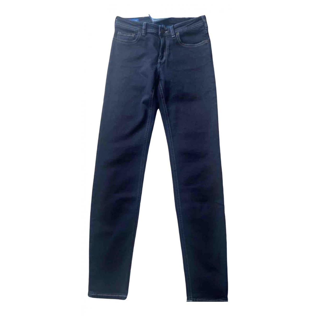 Acne Studios Blå Konst Blue Denim - Jeans Jeans for Women 25 US