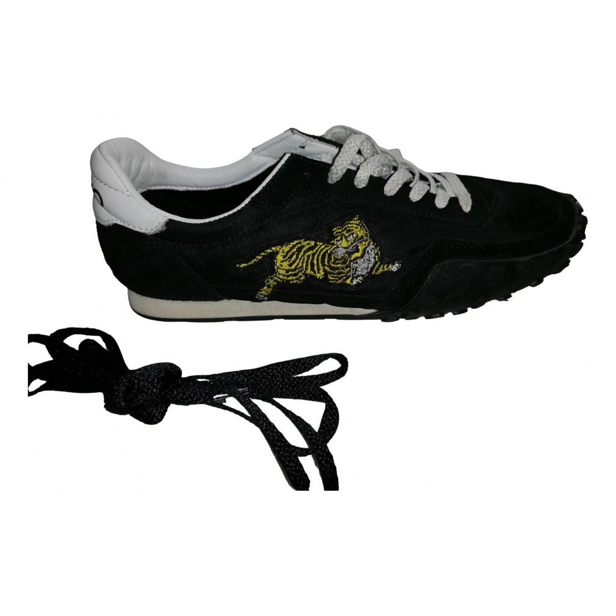 Kenzo \N Sneakers in  Schwarz Veloursleder