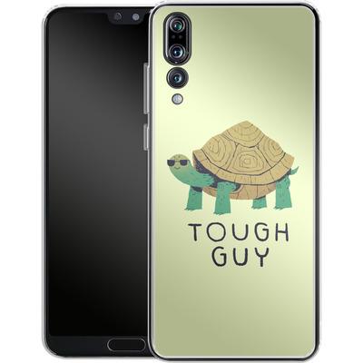 Huawei P20 Pro Silikon Handyhuelle - Tough Guy von Louis Ros
