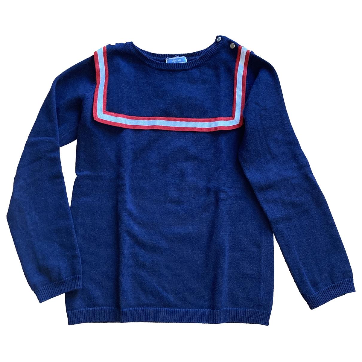 Jacadi \N Pullover, StrickJacke in  Blau Baumwolle