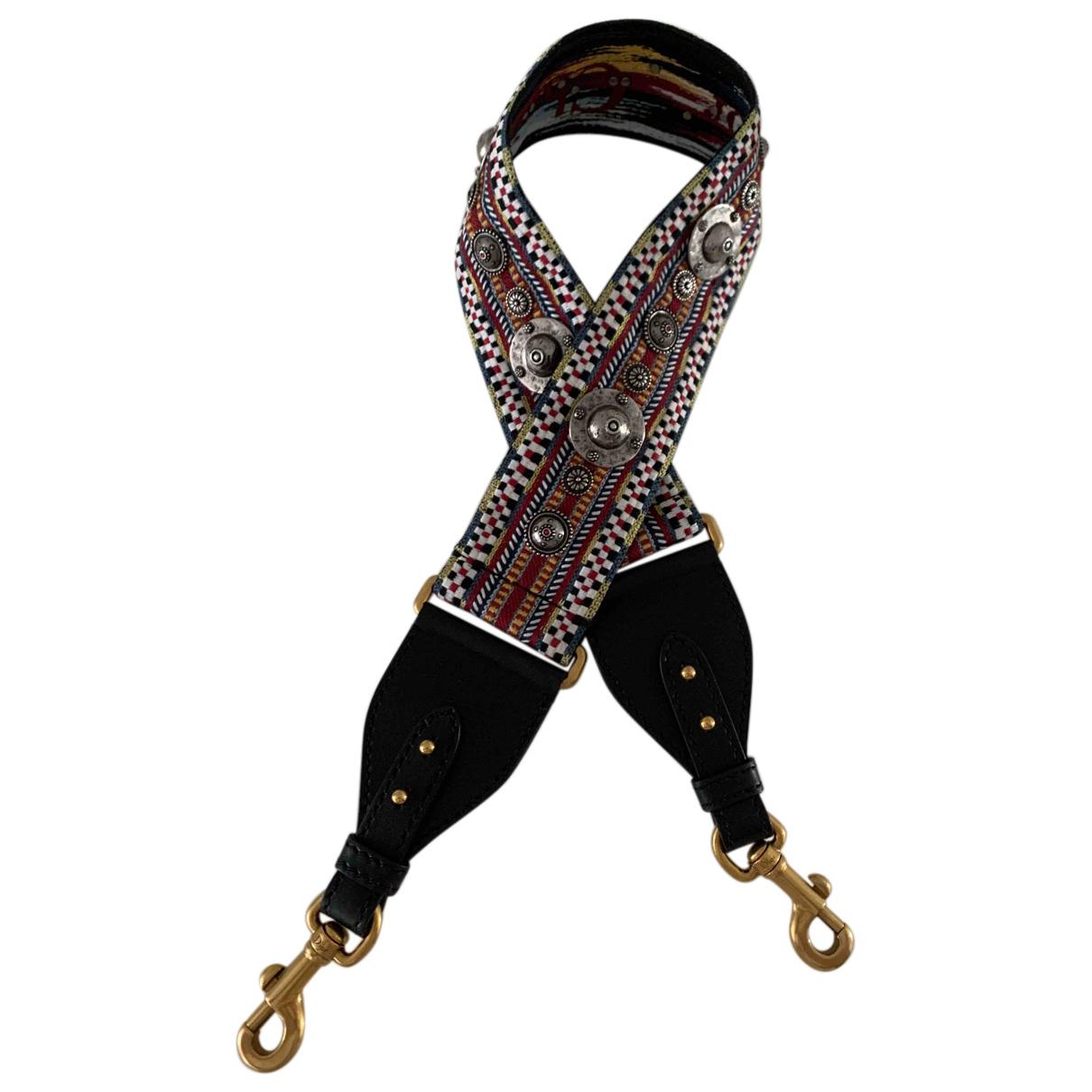 Dior - Petite maroquinerie   pour femme en toile - multicolore