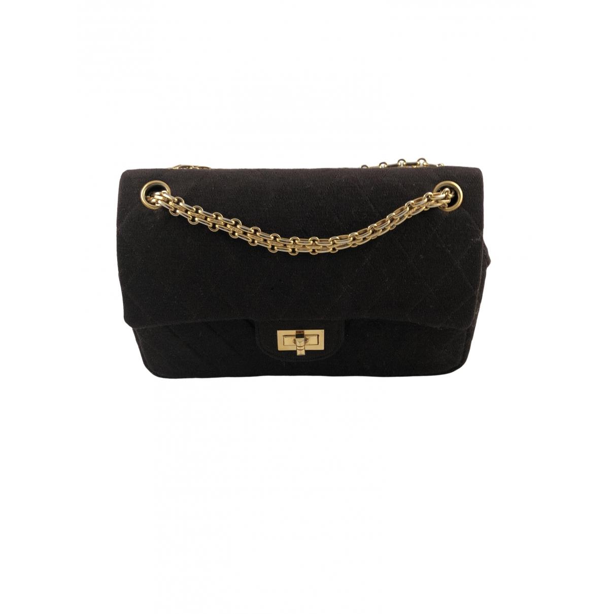 Chanel 2.55 Brown Cloth handbag for Women \N