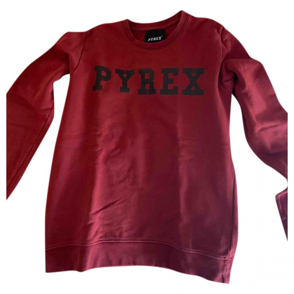 Pyrex - Pull   pour femme en coton - bordeaux