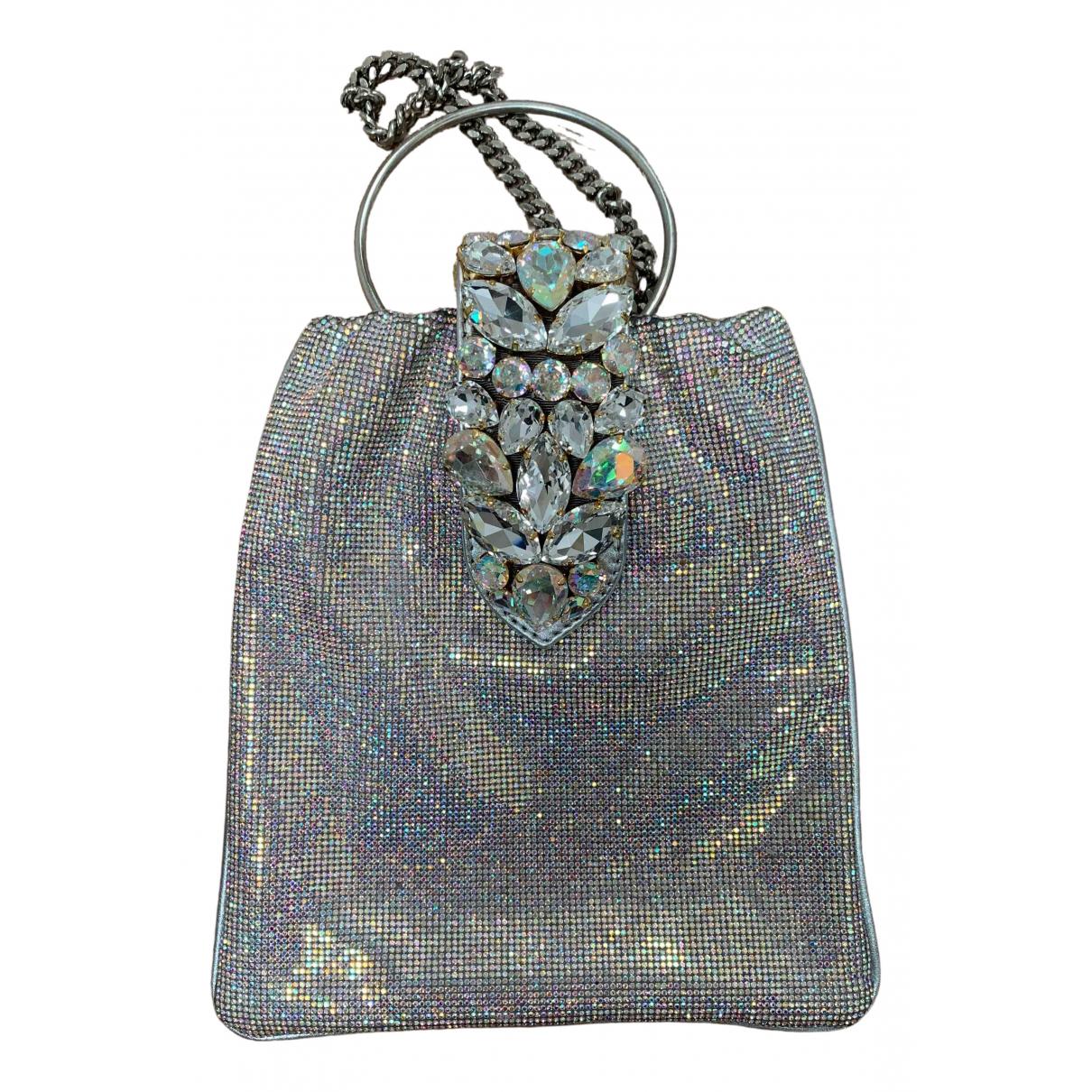 Gedebe N Silver Silk handkerchief for Women N
