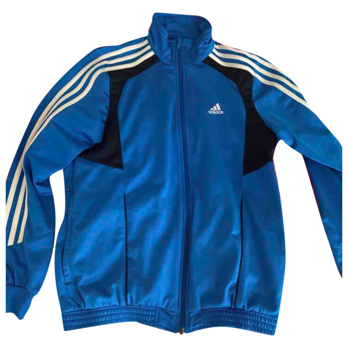 Adidas \N Jacke in  Blau Baumwolle