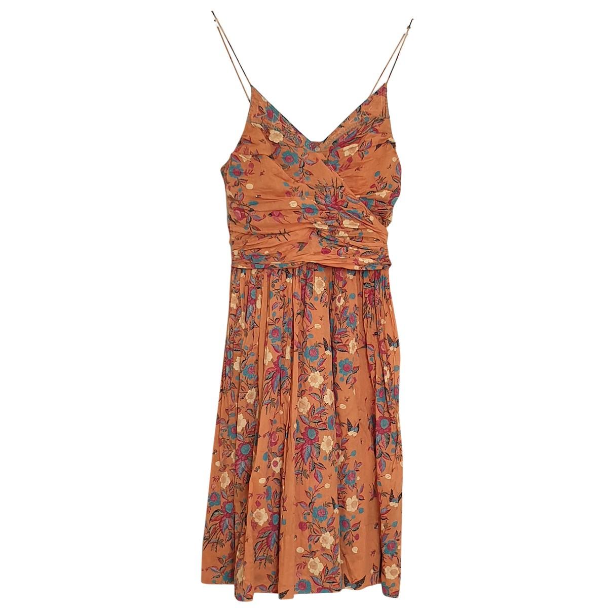 Isabel Marant Etoile - Robe   pour femme en coton - orange