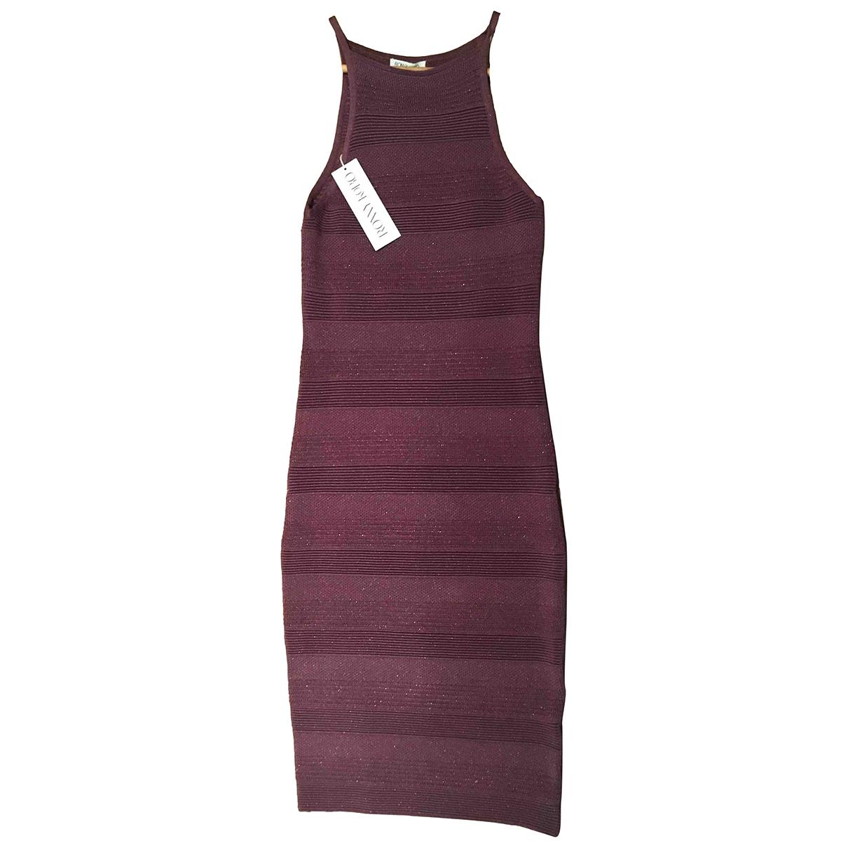 Ronny Kobo \N Kleid in  Lila Wolle