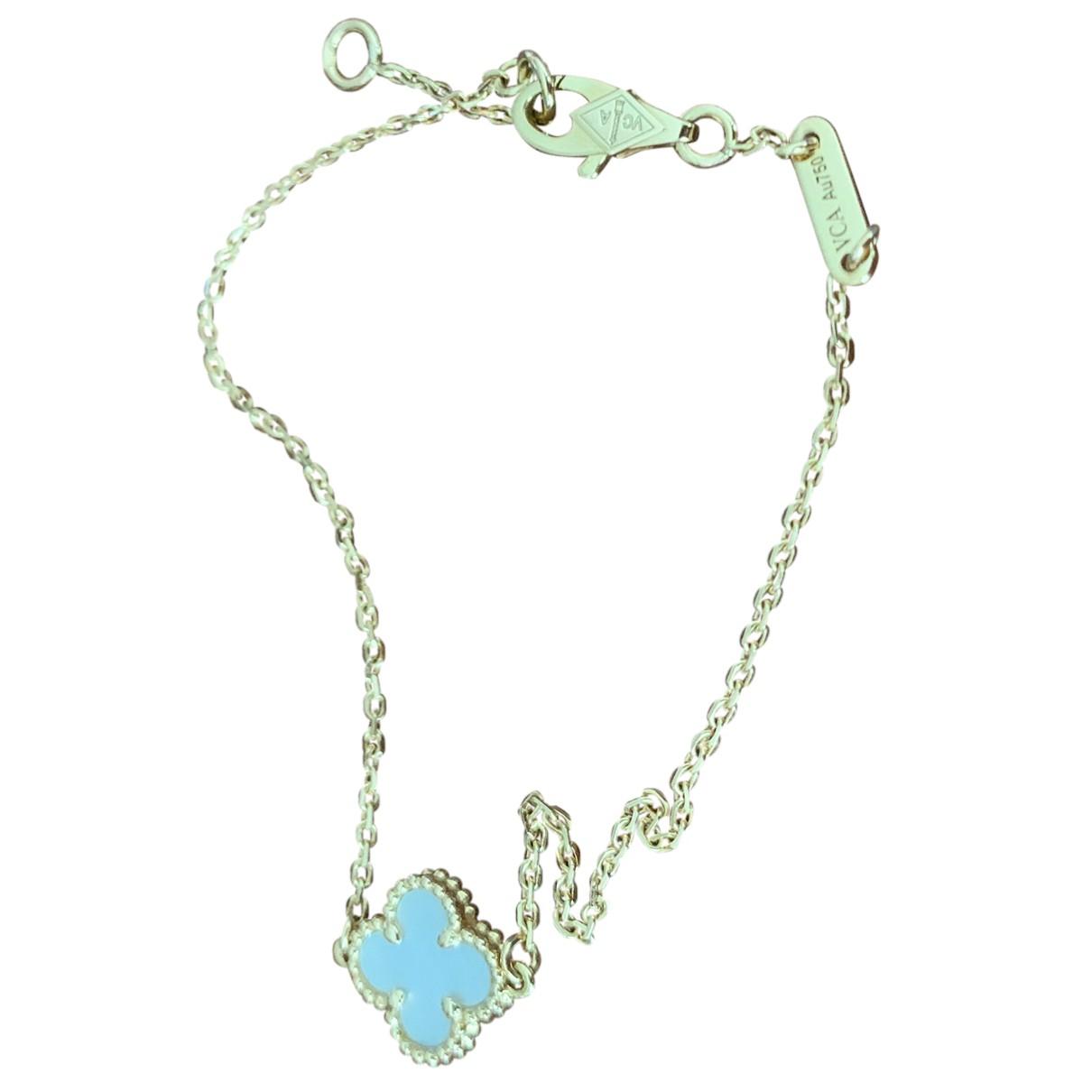 Van Cleef & Arpels Sweet Alhambra Metallic Yellow gold bracelet for Women N